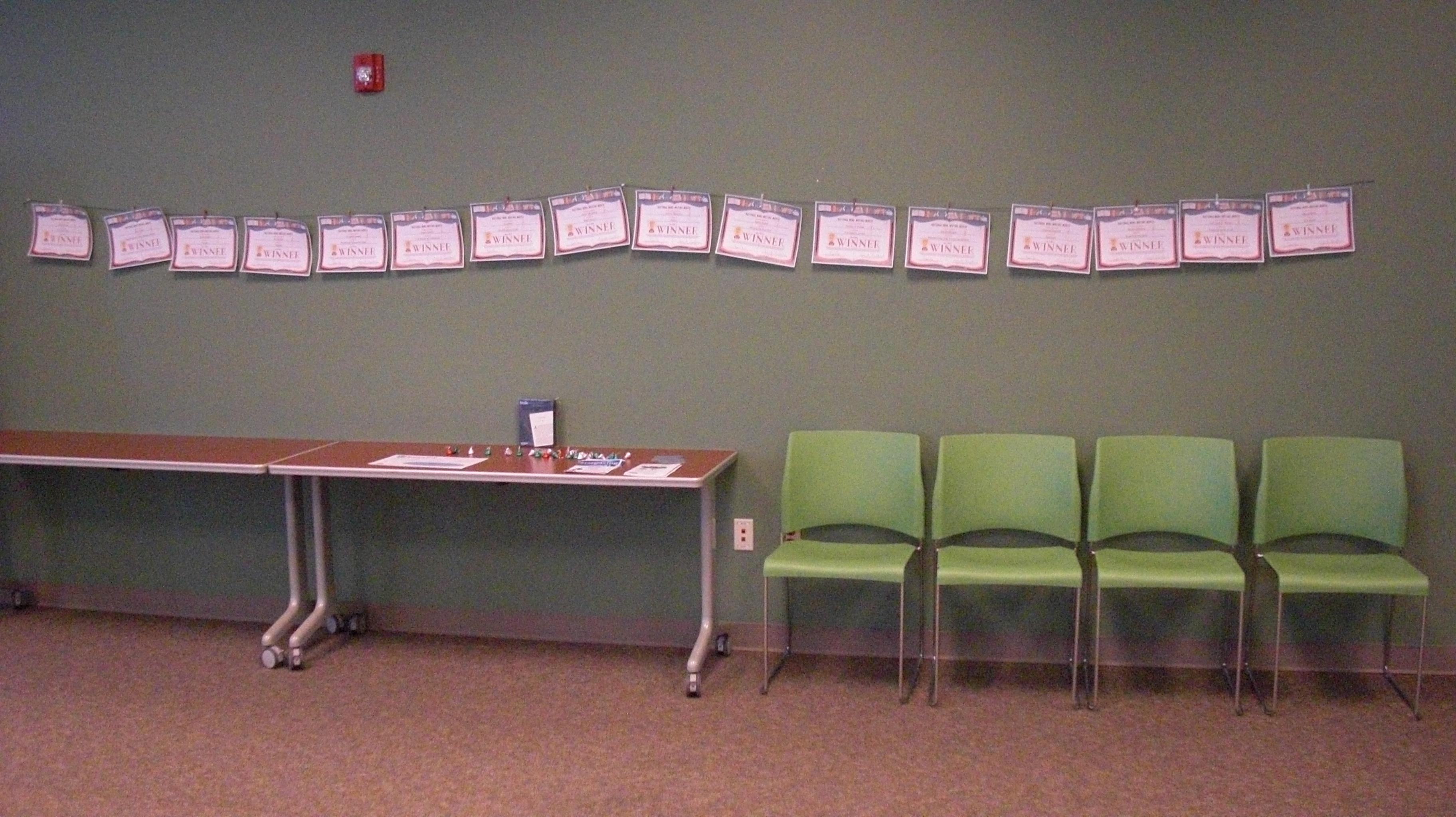 Winner certificates